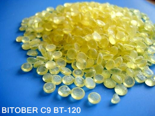 China C9 Hydrocarbon Resin BT-120 for Asphalt Modification , Adhesives , Aromatic Hydrocarbon Resin supplier