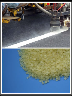 China Light Color C5 / C9 Road Marking Resin Wide Compatibility for Traffic Paints supplier